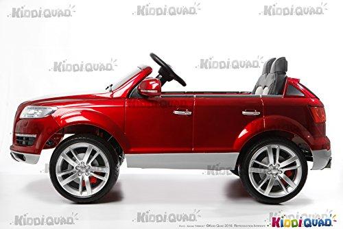 Coche eléctrico infantil Audi Q7 color rojo