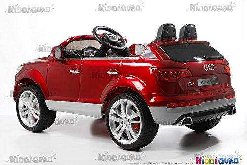 Espectacular Coche eléctrico infantil Audi Q7 color rojo