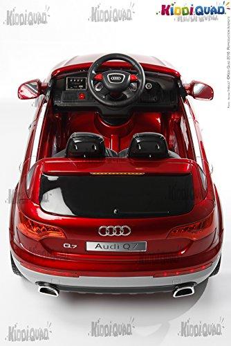 Espectacular Coche eléctrico infantil Audi Q7 para niños y niñas
