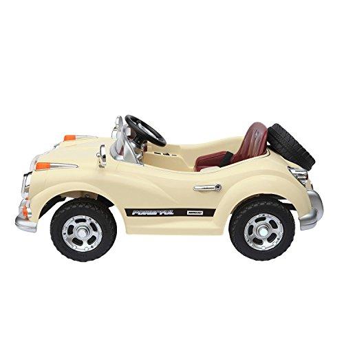 Coche-elctrico-infantil-Rolls-Royace-cabriol-elctrico-de-color-beige