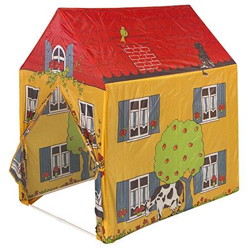 Casa de tela granja para niños y niñas