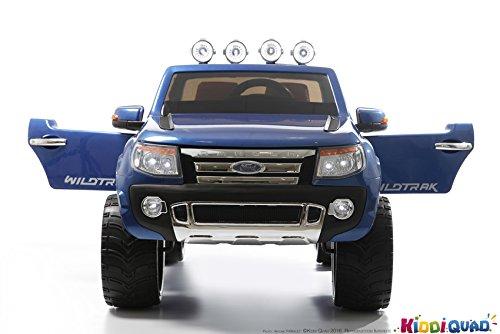 Ford-Ranger-con-pintura-azul-metalizada-coche-elctrico-para-nios-2-plazas-12-V-2-motores
