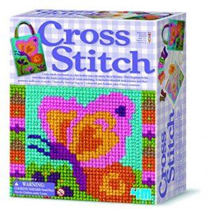 Juego punto cruz para niños y niñas