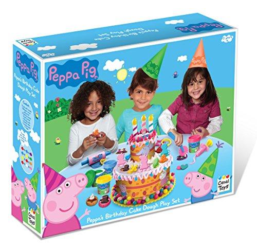Peppa-Pig-Juego-de-plastilina-para-crear-pasteles-Canal