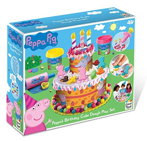 Juego de plastilina Peppa Pig crear pasteles