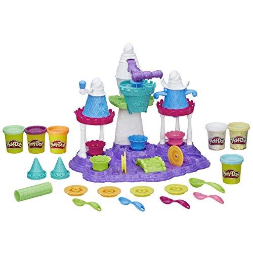 set plastilina infantil para hacer helados