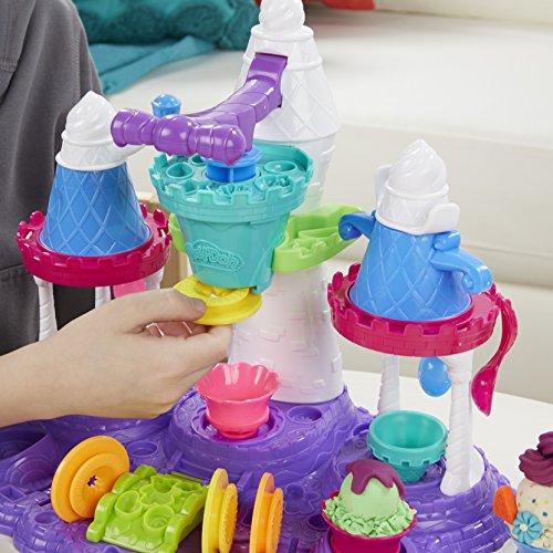 Juguete plastilina Play-Doh-Castillo-de-helados
