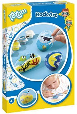Juego decora piedras para niños y niñas