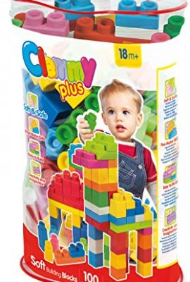 Bolsa de bloques blanditos para bebé Clementoni