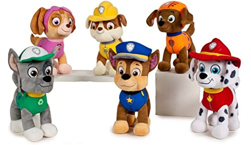 Peluche de personajes patrulla canina