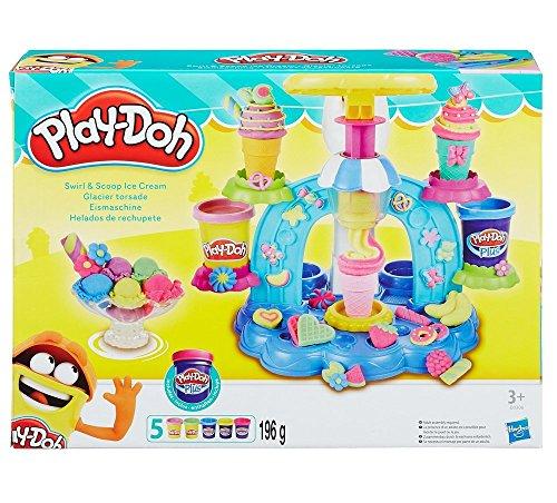 kit plastilina fábrica helados Play Doh