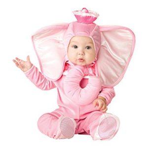 Disfraz Elefante Rosa para bebés