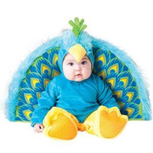 Disfraz Pavo Real para bebé