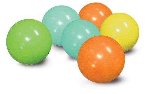 Pelotas de colores para centros de juegos