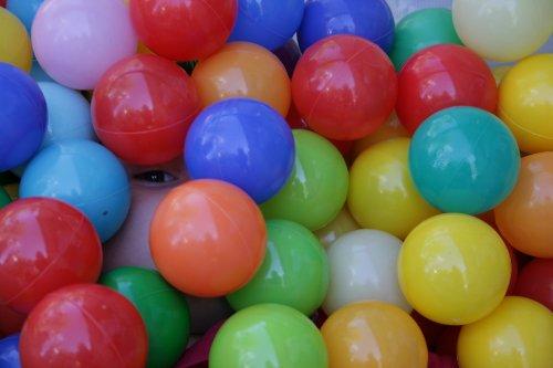 Set de pelotas para rellenar piscinas infantiles
