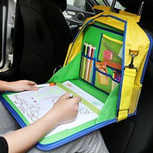Bandeja manualidades para viajar en coche