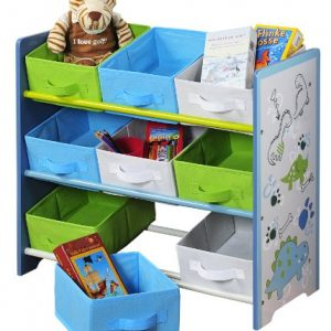 Kesper-17725-Estantera-infantil-color-azul-0