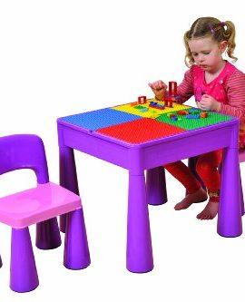 Liberty-House-Juego-de-mesa-y-2-sillas-infantiles-color-morado-0