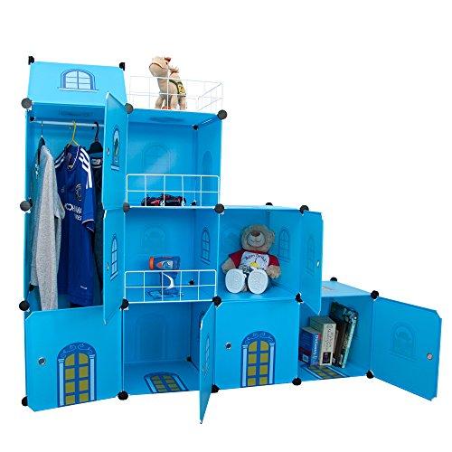 Estantería infantil castillo azul