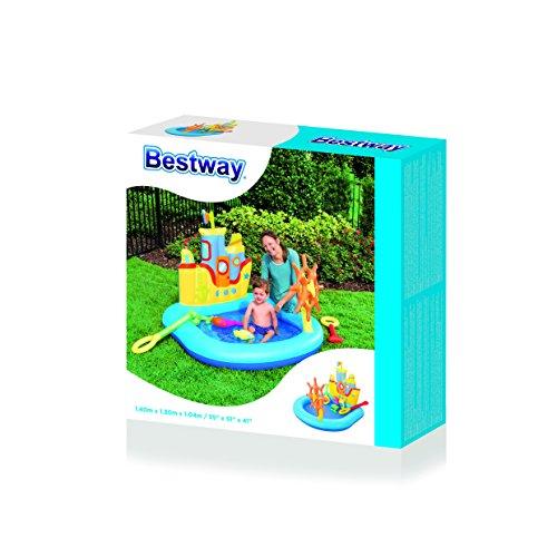 Centro juegos hinchable para niños y niñas