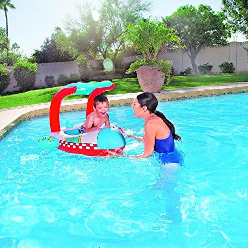 Barco hinchable con parasol bestway juguetespeque - Amazon piscinas hinchables ...