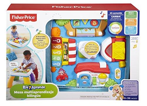 Mesa aprendizaje y juegos bebes