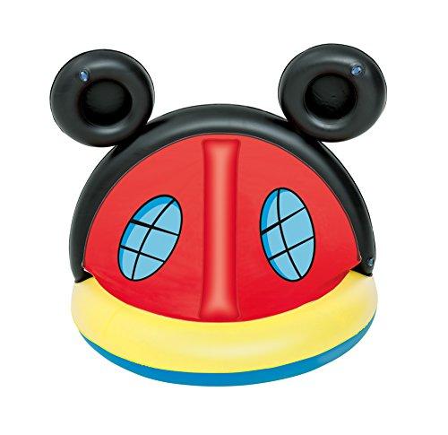 Piscina con parasol Mickey