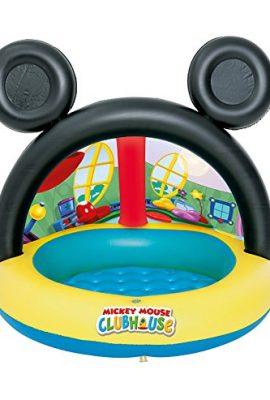 Piscina hinchable con parasol de Mickey