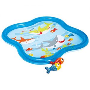 piscina hinchable bebés hexagonal