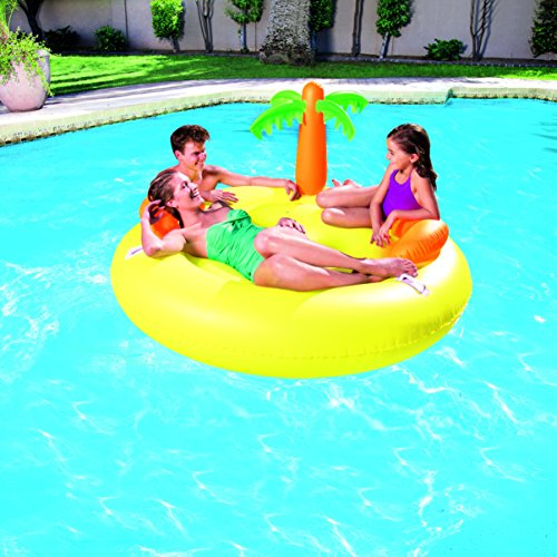 Colchoneta hinchable piscina isla bestway juguetespeque - Colchonetas para piscina ...
