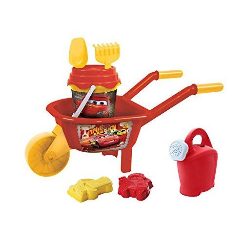 Conjunto juguetes playa Cars