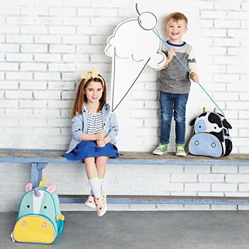 Mochila diseño unicornio para niños y niñas