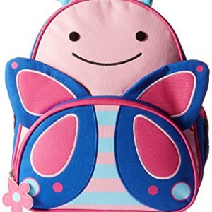 mochila infantil mariposa