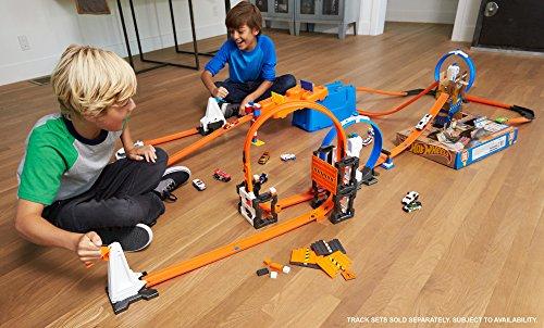Hot-Wheels-Caja de Acrobacias niños