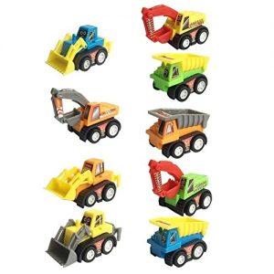 divertidos mini vehículos construcción