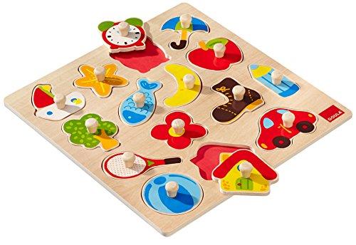 Puzzle 15 piezas de madera juguetespeque - Siluetas madera infantiles ...