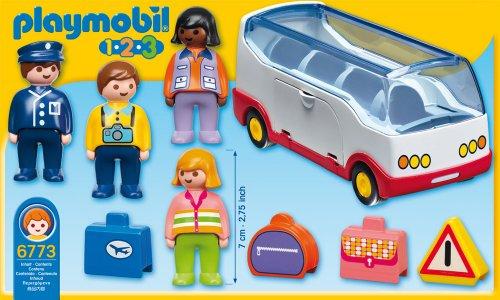 Playmobil-Infantil Autobus aeropuerto