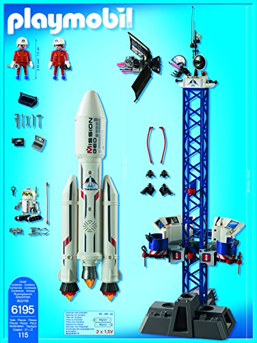 Playmobil Cohete para niños y niñas