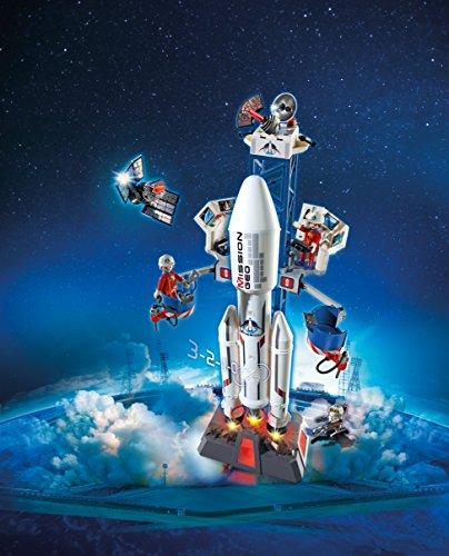 Playmobil-Cohete-con-plataforma-de-lanzamiento
