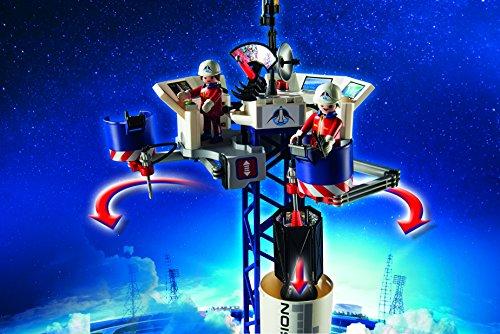 Playmobil-Cohete-con-plataforma-de-lanzamiento-infantil