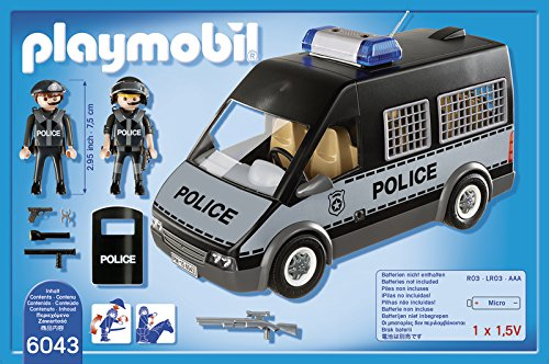 Playmobil-City Action furgon policía