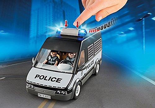 Playmobil-Furgon-de-policia-con-luces-y-sonido