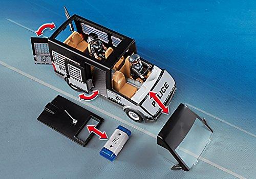 Playmobil furgón de policía para niños y niñas
