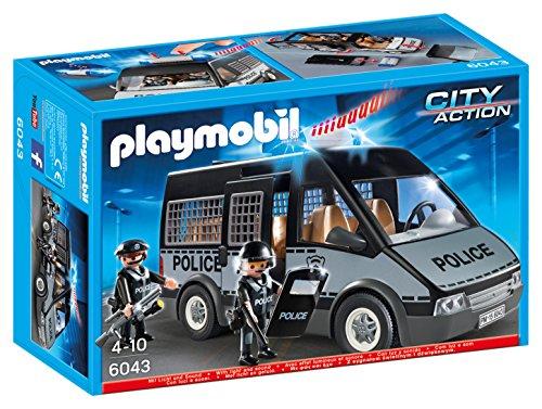 Playmobil furgón de policía