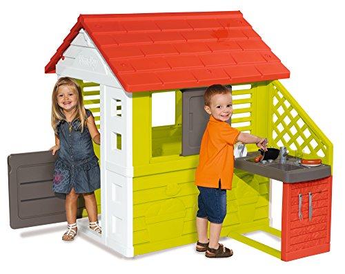 Casita con cocina para niños y niñas