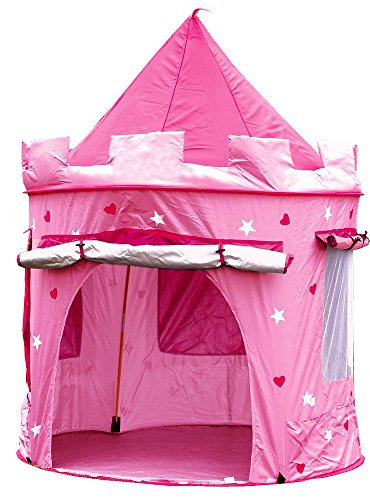 tienda castillo princesa color rosa
